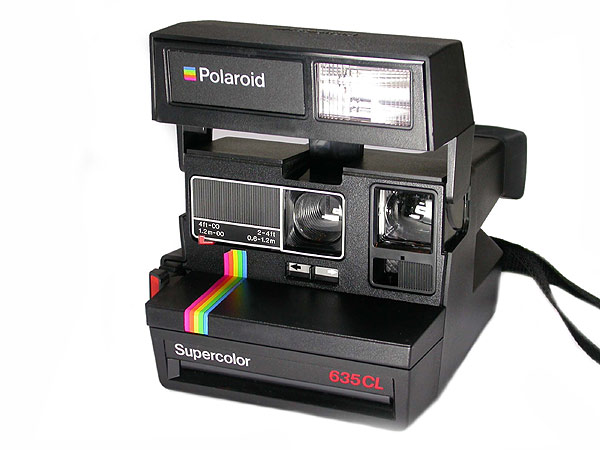 polaroid supercolor 635cl definitely an eyecatcher lomography. Black Bedroom Furniture Sets. Home Design Ideas